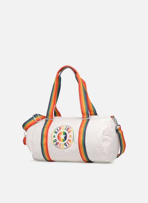 Sporttaschen Kipling Onalo weiß schuhe getragen