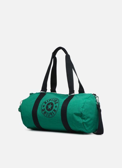 Sporttaschen kipling Onalo grün schuhe getragen