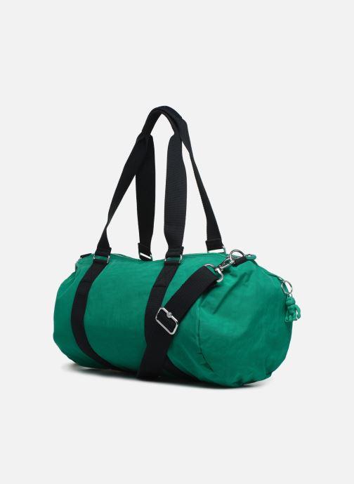 Sporttaschen kipling Onalo grün ansicht von rechts