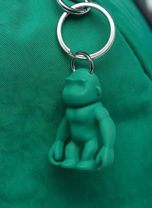Sporttaschen kipling Onalo grün ansicht von hinten