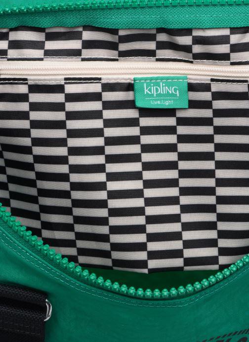 Sporttaschen kipling Onalo grün ansicht von links