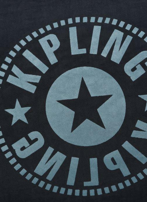 Sacs de sport kipling Onalo Bleu vue gauche