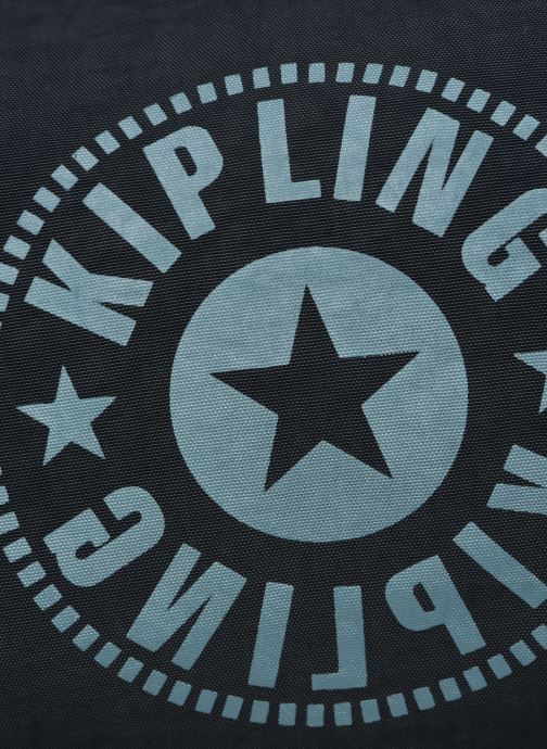 Borsa da palestra Kipling Onalo Azzurro immagine sinistra
