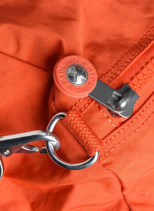 Sporttaschen Kipling Onalo orange ansicht von links