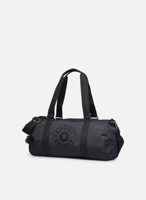 Sporttaschen Kipling Onalo grau schuhe getragen