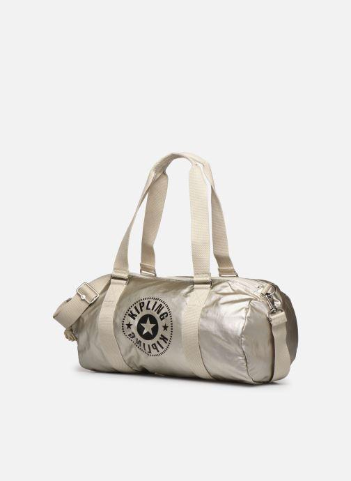 Sporttaschen Kipling Onalo silber schuhe getragen