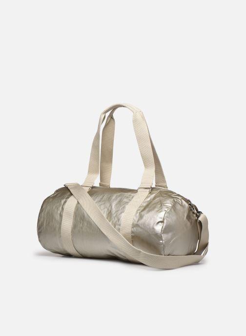 Sporttaschen Kipling Onalo silber ansicht von rechts