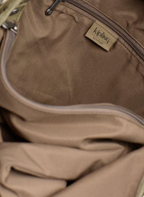 Handväskor kipling Urbana Grön bild från baksidan
