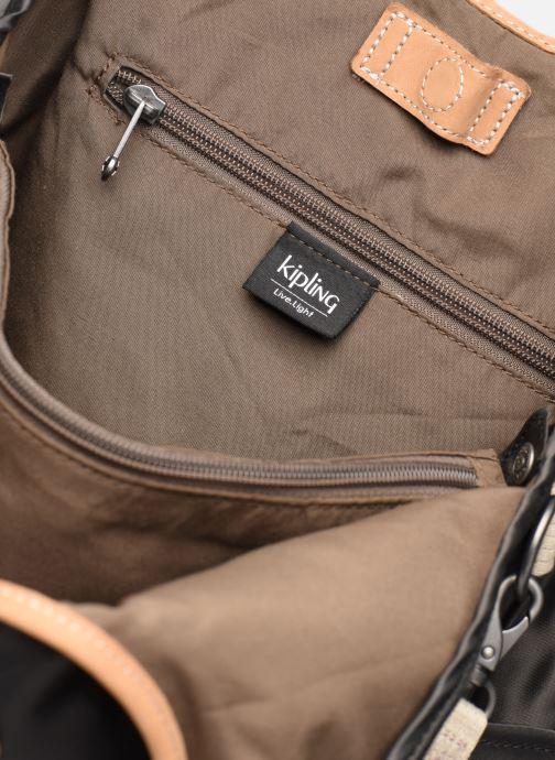 Handtassen kipling Urbana Zwart achterkant