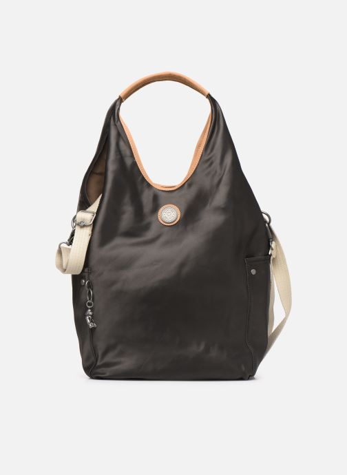 Handtassen kipling Urbana Zwart detail