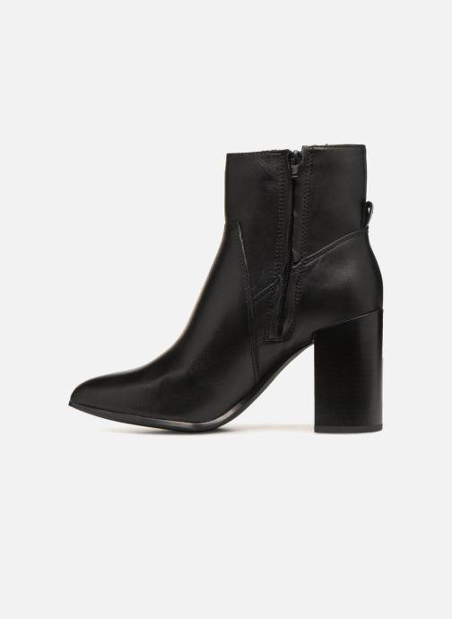 Boots en enkellaarsjes Bullboxer 381500F6L Zwart voorkant