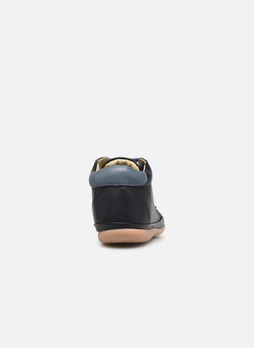 Bottines et boots Little Mary Gambarde Bleu vue droite