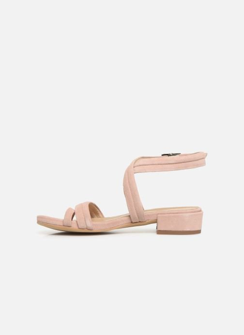 Sandals Bianco 20-50127 Pink front view