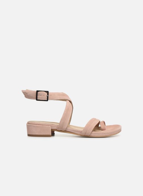 Sandals Bianco 20-50127 Pink back view