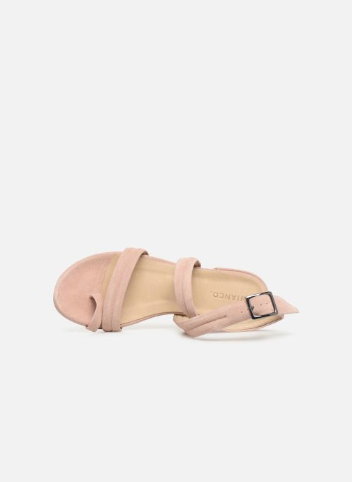 Sandals Bianco 20-50127 Pink view from the left