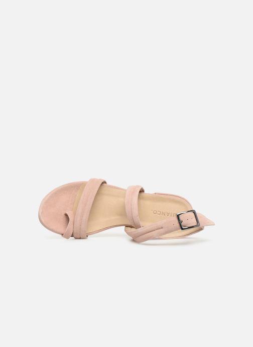 Sandalias Bianco 20-50127 Rosa vista lateral izquierda