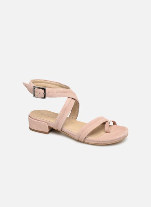 Sandals Bianco 20-50127 Pink detailed view/ Pair view