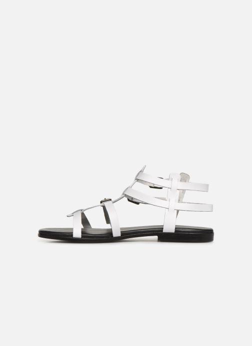 Sandales et nu-pieds Bianco 20-50149 Blanc vue face