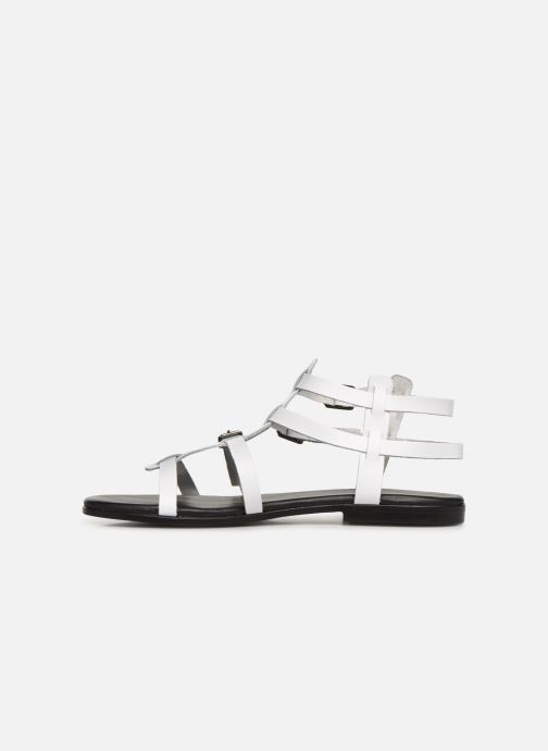 Sandals Bianco 20-50149 White front view