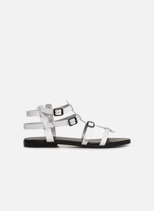 Sandals Bianco 20-50149 White back view