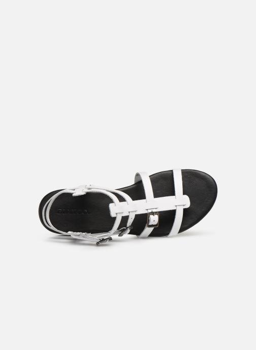 Sandales et nu-pieds Bianco 20-50149 Blanc vue gauche