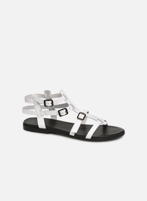 b32465d0e70 Sandaler Bianco 20-50149 Hvid detaljeret billede af skoene