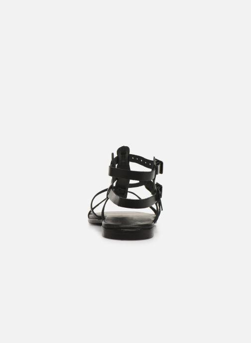 Sandales et nu-pieds Bianco 20-50149 Noir vue droite