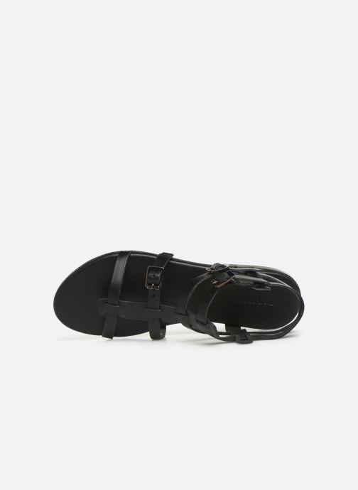 Sandales et nu-pieds Bianco 20-50149 Noir vue gauche