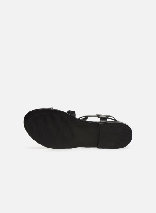 Sandales et nu-pieds Bianco 20-50149 Noir vue haut
