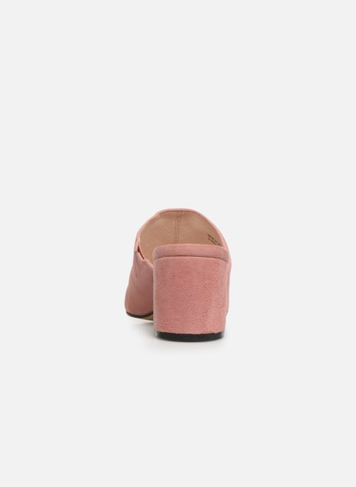 Mules & clogs Bianco 20-49852 Pink view from the right