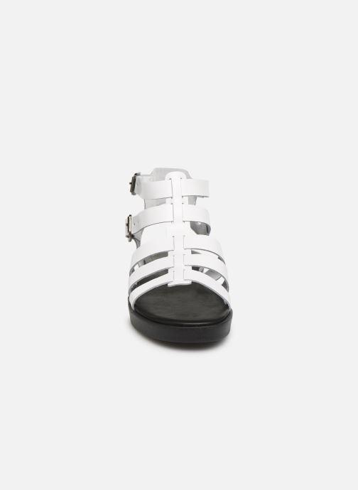 Sandales et nu-pieds Bianco 20-50147 Blanc vue portées chaussures