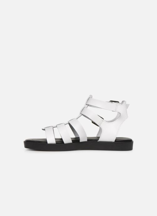 Sandals Bianco 20-50147 White front view