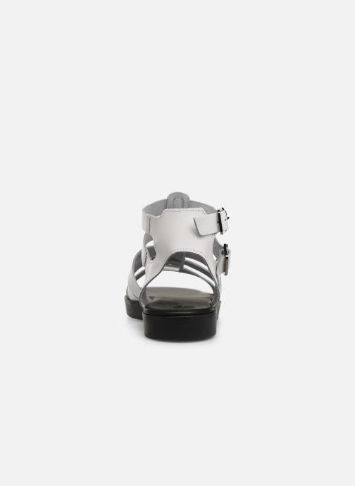 Sandales et nu-pieds Bianco 20-50147 Blanc vue droite