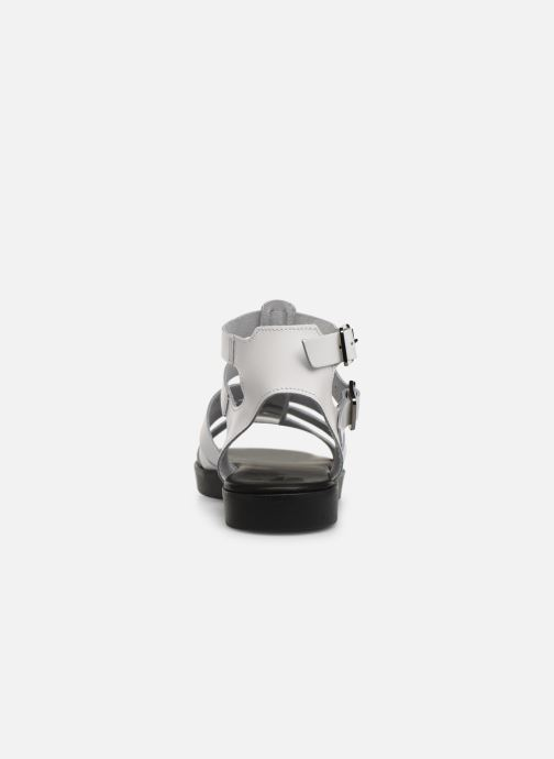 Sandals Bianco 20-50147 White view from the right