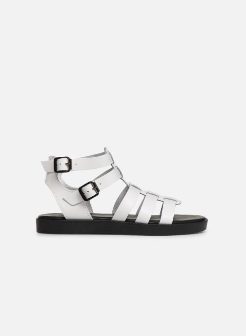 Sandales et nu-pieds Bianco 20-50147 Blanc vue derrière
