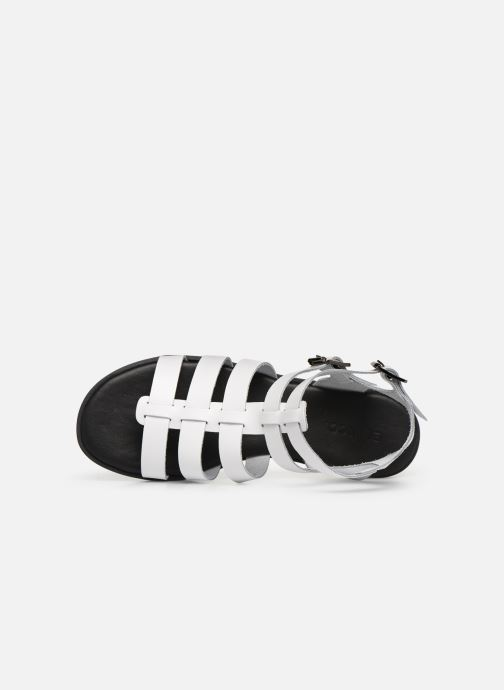 Sandales et nu-pieds Bianco 20-50147 Blanc vue gauche