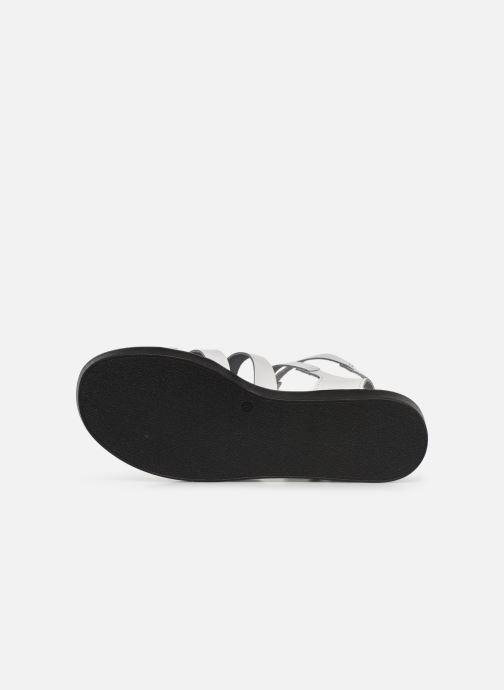 Sandales et nu-pieds Bianco 20-50147 Blanc vue haut