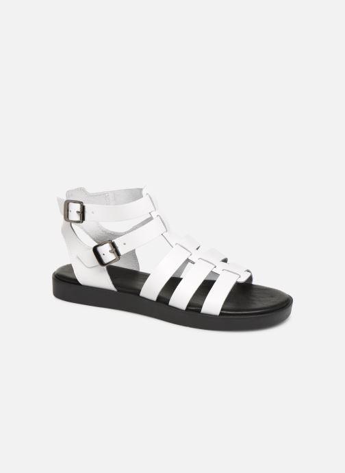 Sandales et nu-pieds Bianco 20-50147 Blanc vue détail/paire