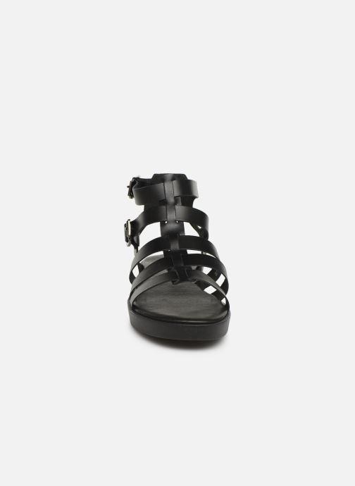 Sandales et nu-pieds Bianco 20-50147 Noir vue portées chaussures