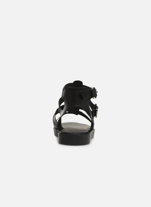 Sandales et nu-pieds Bianco 20-50147 Noir vue droite