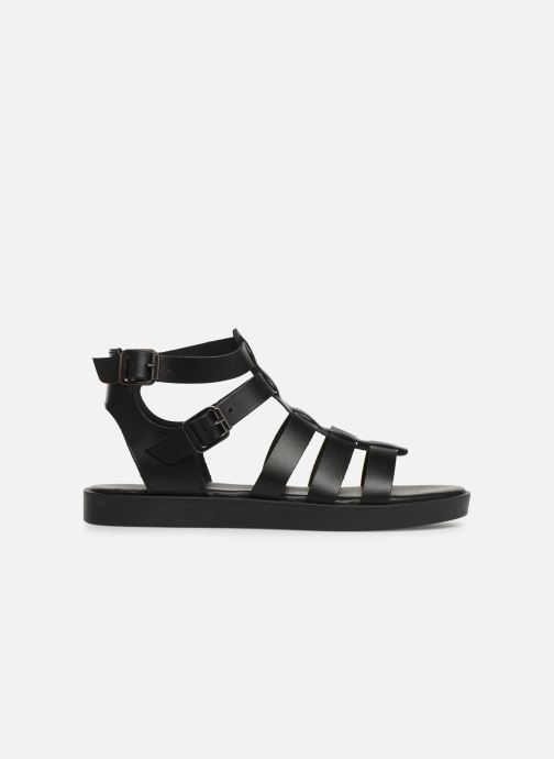 Sandales et nu-pieds Bianco 20-50147 Noir vue derrière