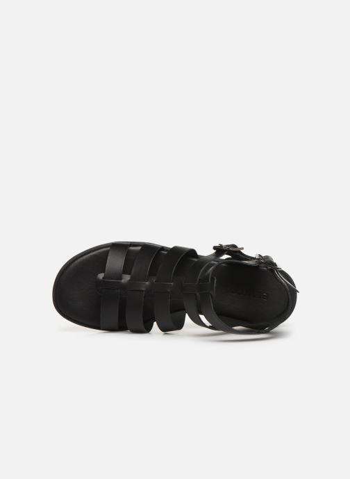 Sandales et nu-pieds Bianco 20-50147 Noir vue gauche