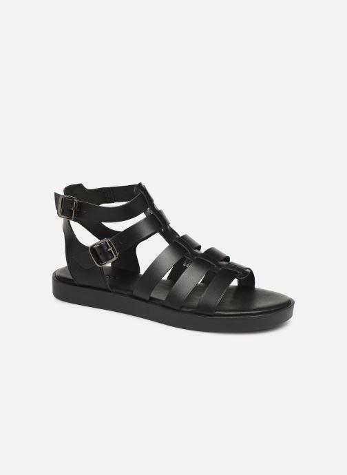 Sandales et nu-pieds Bianco 20-50147 Noir vue détail/paire
