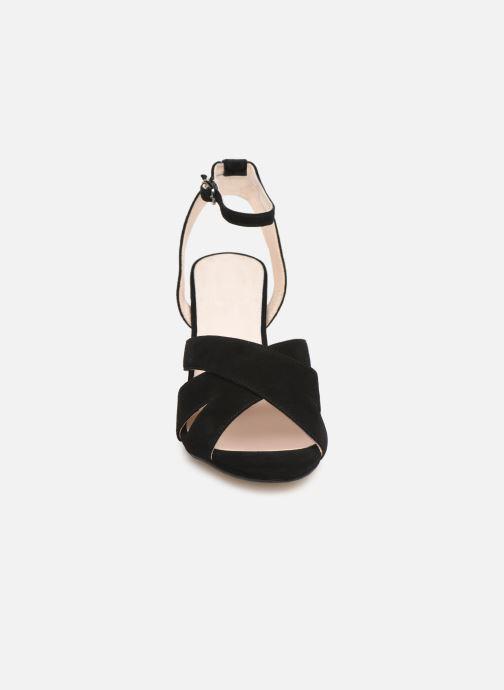 Sandalen Bianco 20-50129 schwarz schuhe getragen