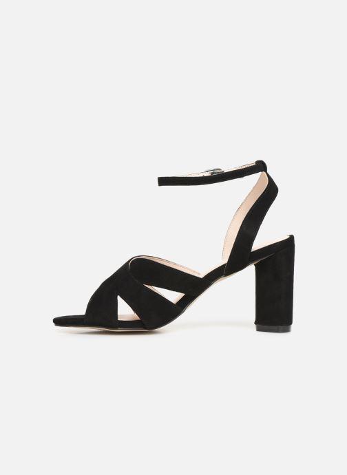 Sandalen Bianco 20-50129 schwarz ansicht von vorne