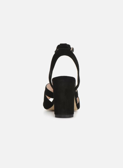 Sandalen Bianco 20-50129 Zwart rechts