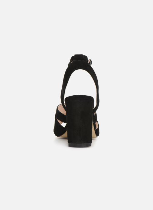Sandalen Bianco 20-50129 schwarz ansicht von rechts