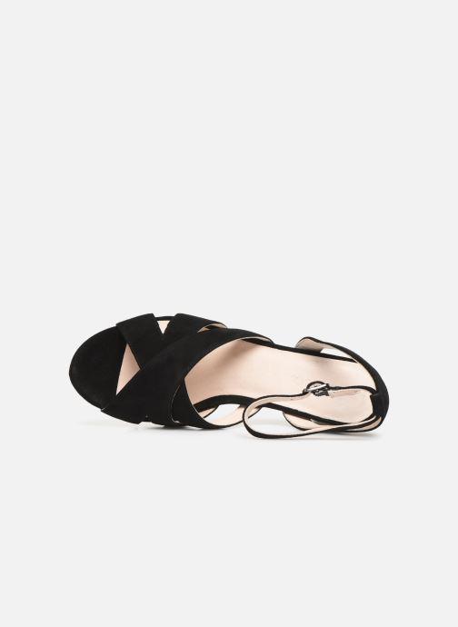 Sandalen Bianco 20-50129 schwarz ansicht von links