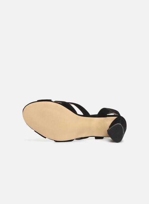 Sandalen Bianco 20-50129 schwarz ansicht von oben