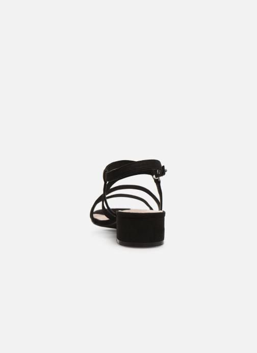 Sandalen Bianco 20-50134 Zwart rechts
